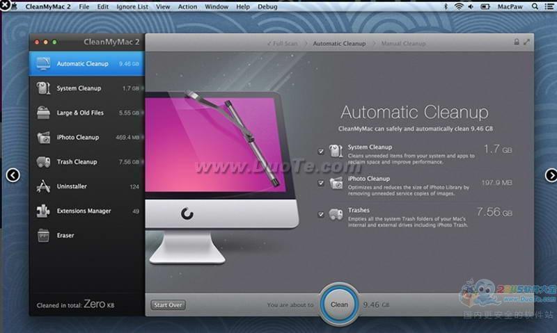 CleanMyMac (Mac清理软件)下载