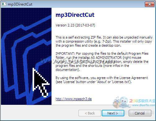 mp3DirectCut下载
