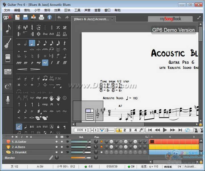 Guitar Pro for Mac下载
