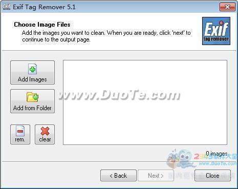 Exif Tag Remover(清除exif标签信息)下载