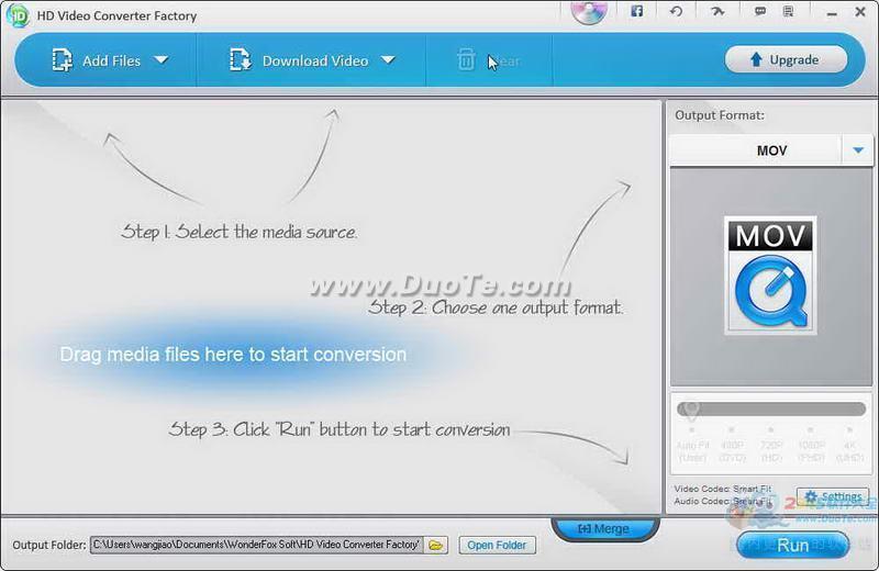 WonderFox Free HD Video Converter Factory下载