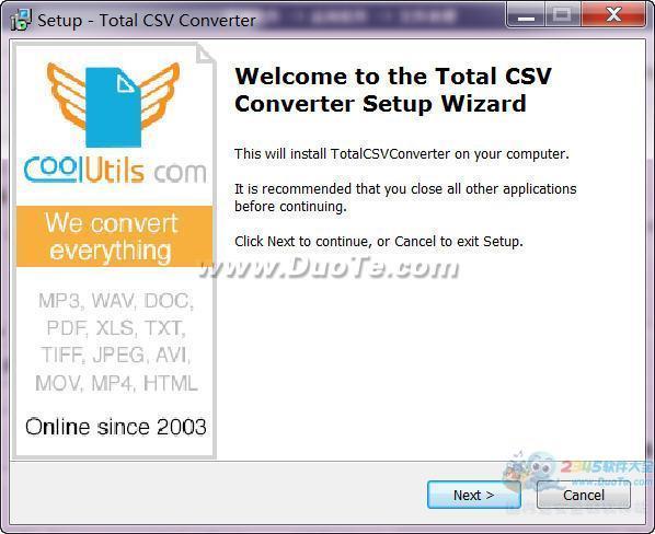 Total CSV Converter(万能CSV转换器)下载
