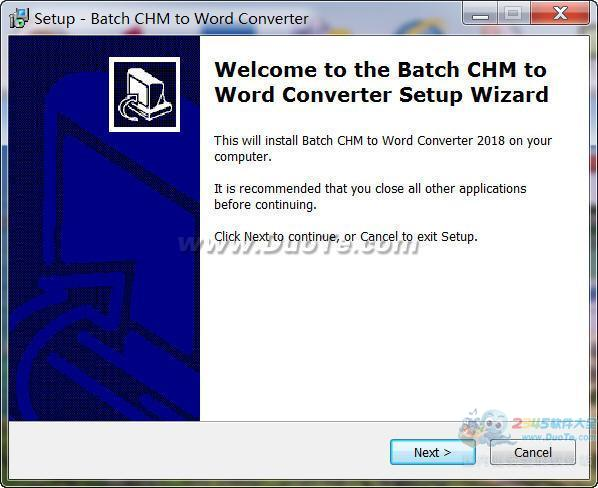 Batch CHM TO DOC Converter(chm转doc转换器)下载