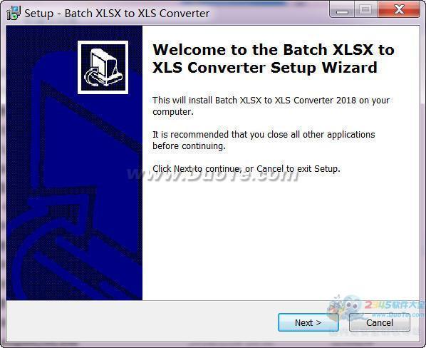 Batch XLS and XLSX Converter(xls转xlsx软件)下载