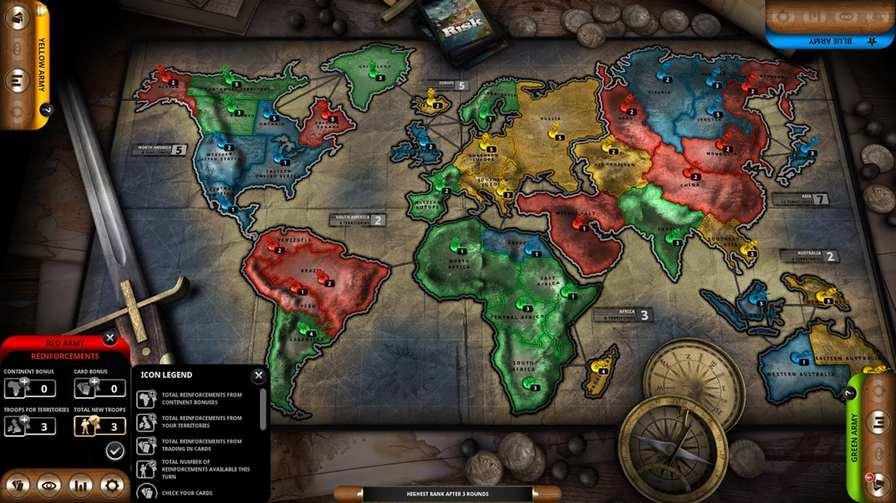 风险:全球统治桌游