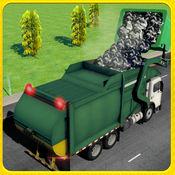 城市垃圾车司机模拟器:一个真正的驾驶考试游戏