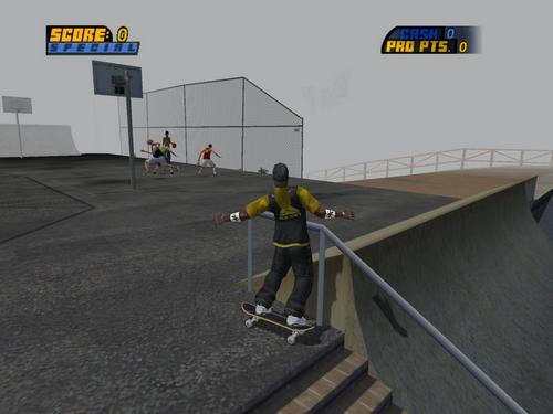 托尼霍克职业滑板4