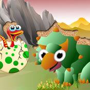 QCat - 幼儿的恐龙世界拼图游戏(免费)