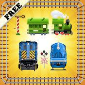 拼图玩具火车幼儿和儿童