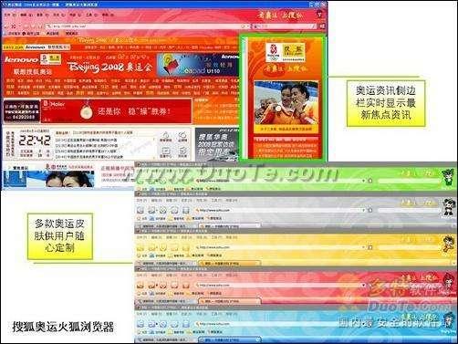 """浏览器PK之""""奥运赛场的激烈角逐"""""""