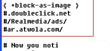 应用Privoxy让Chrome实现广告过滤