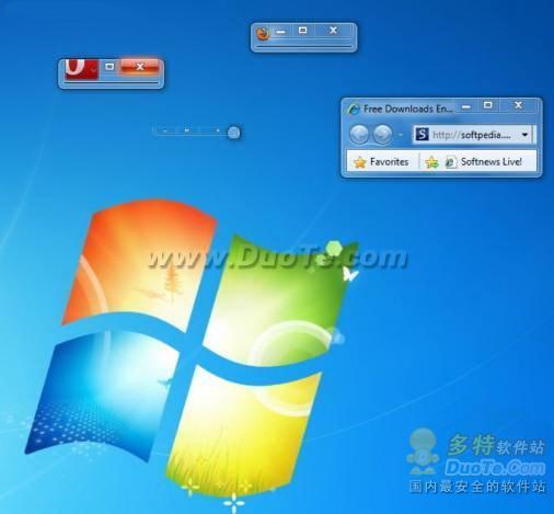 Windows 7系统IE8窗口大小限制