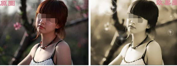 利用可牛影像的磨皮和编辑功能打造怀旧美女风格照