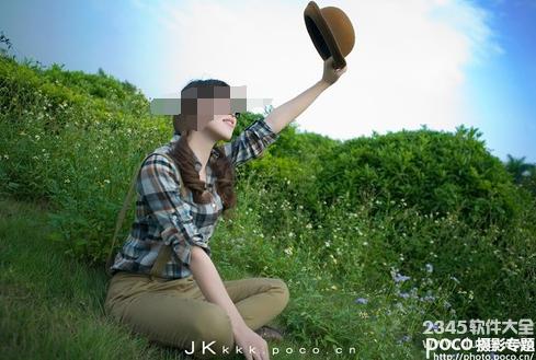教你如何拍摄户外清晰人像
