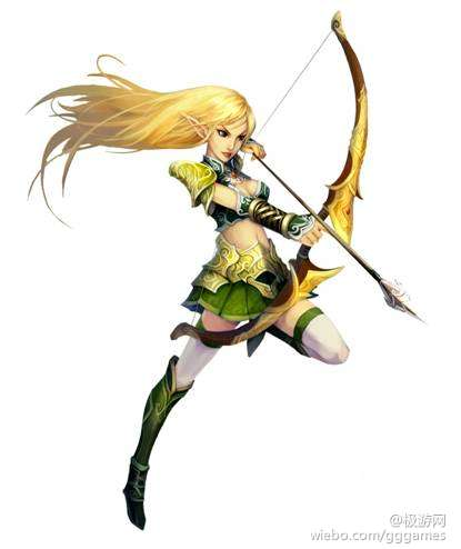 《龙之国度》女神:精灵弓箭手