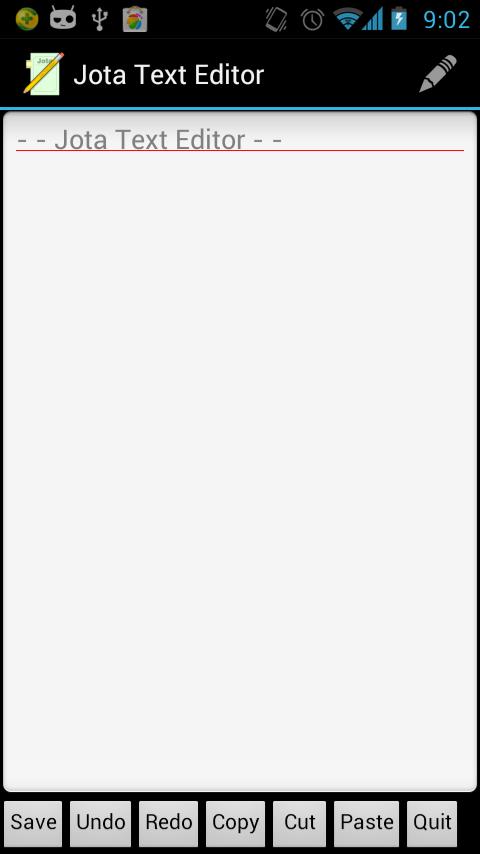 超强文本编辑器 Jota Text Editor软件截图0