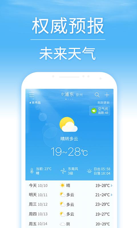 7日天气预报