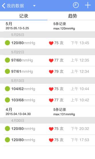 高血压管家软件截图1