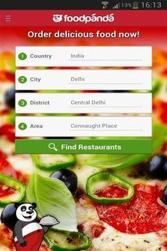 Foodpanda软件截图4