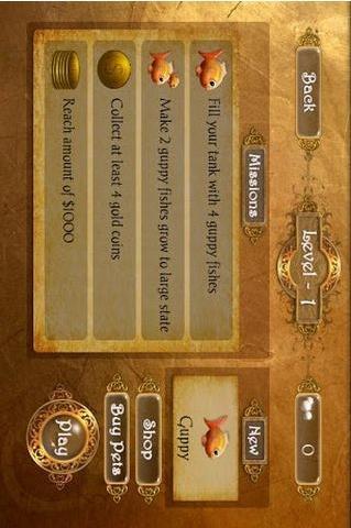 养鱼游戏 精简版软件截图2