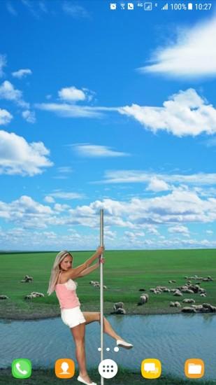 蓝天白云视频动态壁纸