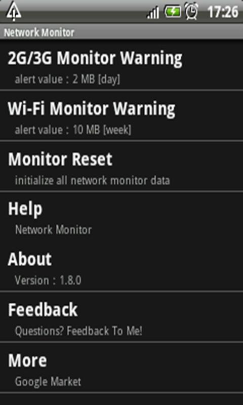 网络流量监控精灵软件截图2