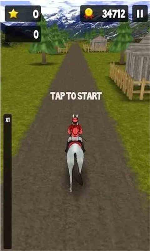 疯狂赛马跑酷软件截图1