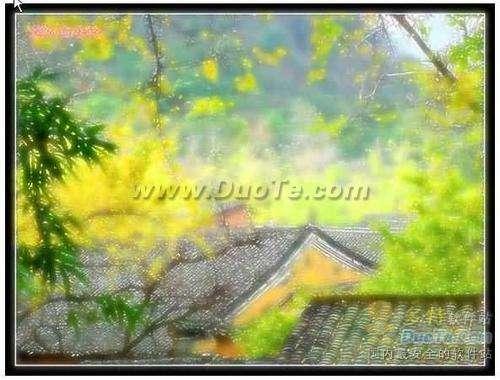 PhotoShop制作风景照片梦幻般仙境效果