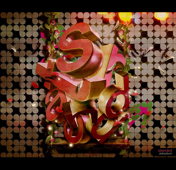 超强创意的3D文字字体设计欣赏