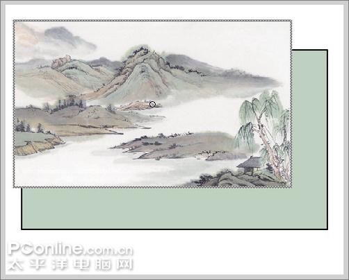 Flash教你如何制作一幅诗意的水墨卷轴展开的动画