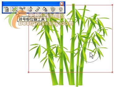 Illustrator矢量绘制实例:清新翠竹