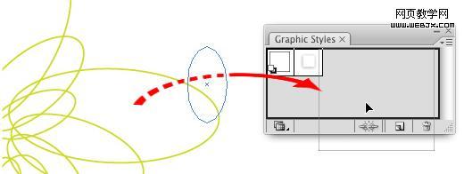 Illustrator绘制仿螺旋线彩色图案_天极设计在线整理
