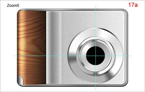 Photoshop绘制作一台逼真的相机