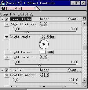 After Effects 基础教程之滤镜