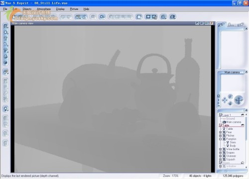 Vue 5 Esprit 基础教程之菜单详解:Picture(图像)