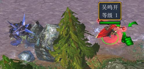 《天下贰:巴山蜀水》1级翎羽不加点满血击杀开场小BOSS之夜叉王