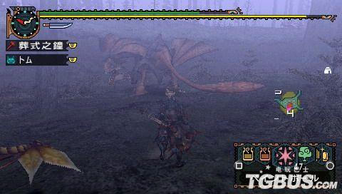 《怪物猎人2G》集会所下位之毒怪鸟讨伐 大锤篇
