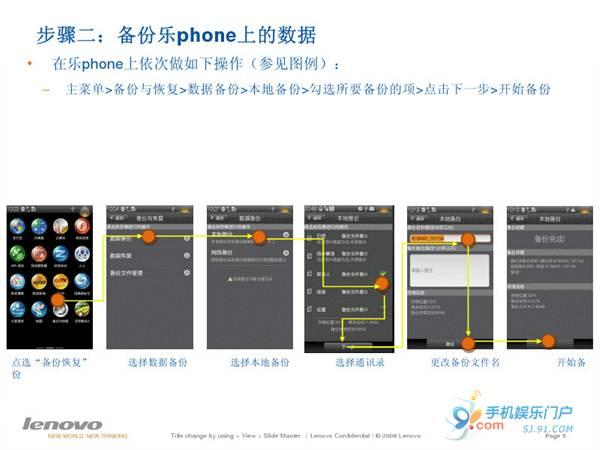联想乐Phone升级2.2固件教程