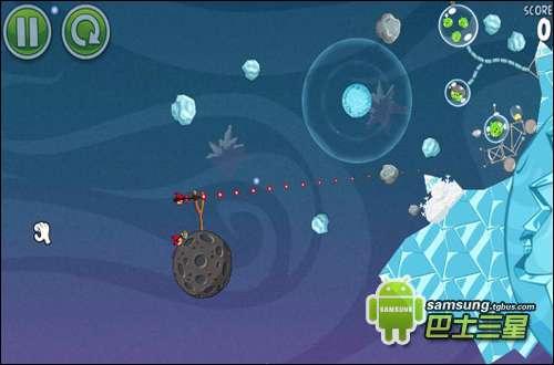 愤怒的小鸟太空版三星攻略2-2