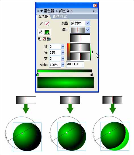 flash基础教程-填充变形工具
