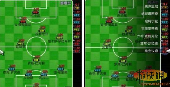 《实况足球2012》16-18岁的妖人选择