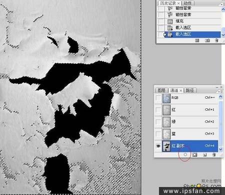怎么用PS把照片做旧效果-PS照片合成