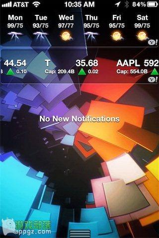 iphone4s锁屏添加动画背景方法
