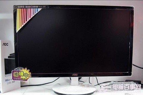 电脑显示器一片黑的解决办法
