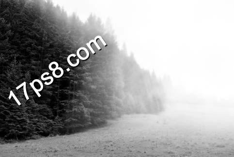 ps照片处理-逼真迷雾效果
