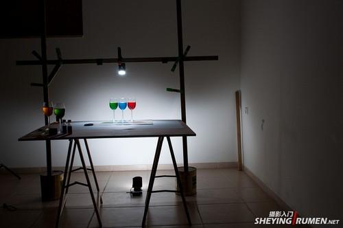摄影简单布光方法分享