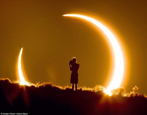 教你如何拍令人惊叹的日食照片