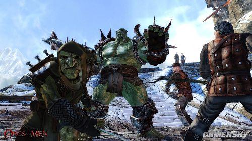 《妖兽与人类》故事梗概及游戏截图