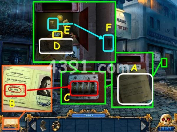 《黑暗空间2:蜡美人》第二章图文攻略