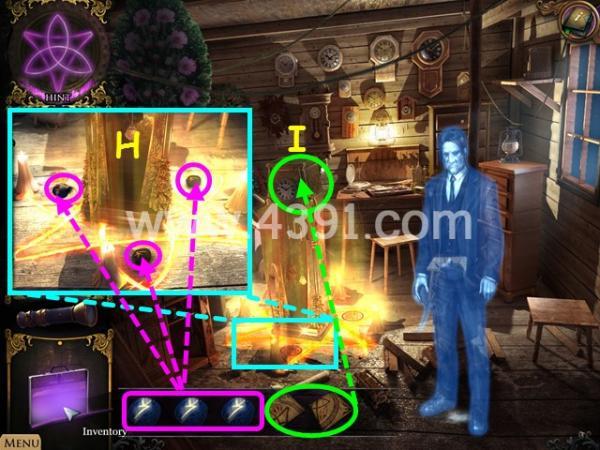 奇异档案3:灰雾湖之谜第三章攻略